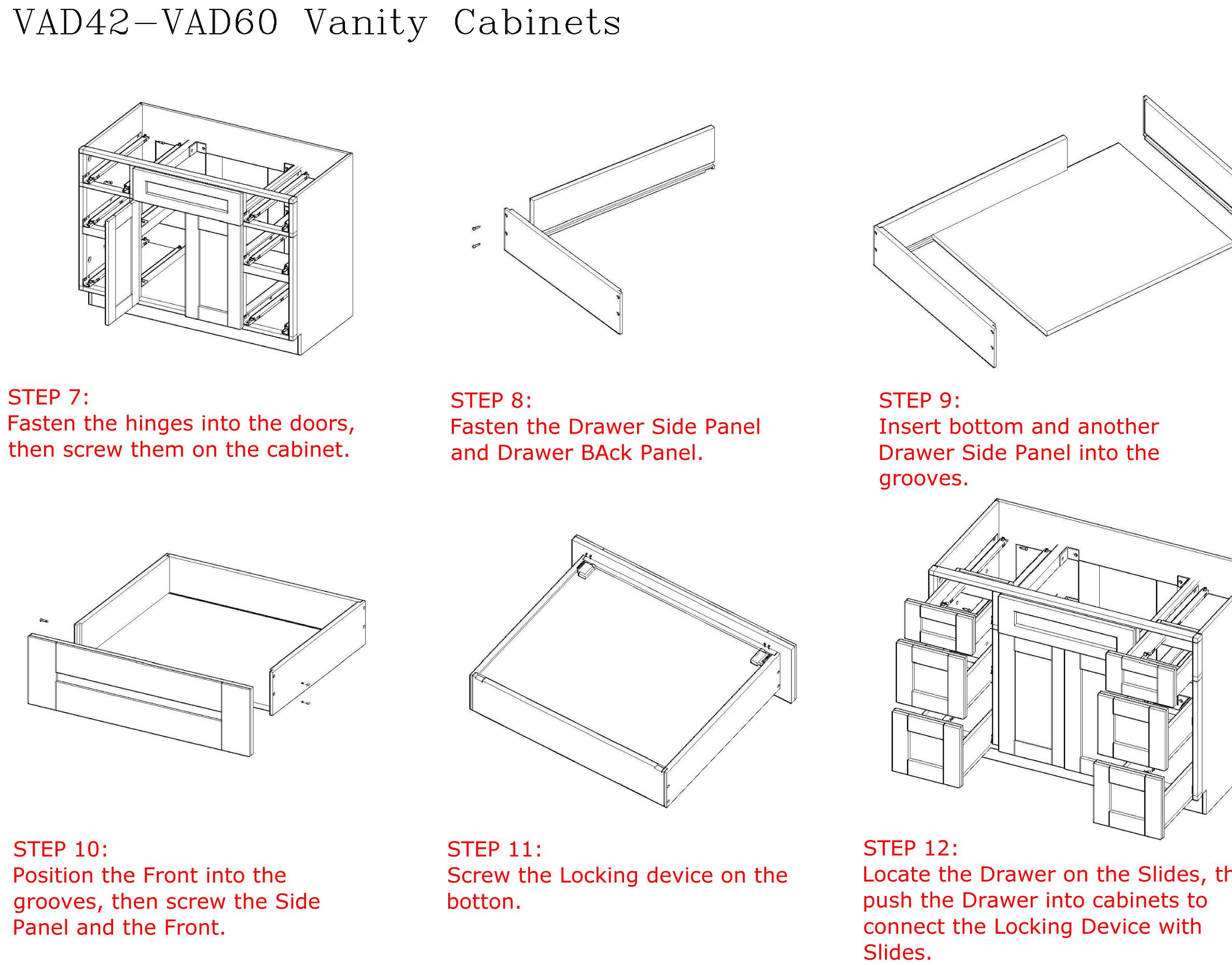 Cabinet Assembly Instructions Www Stkittsvilla Com